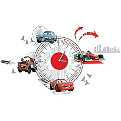 Disney - Cars Sticker Clock