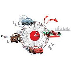 Disney - Cars Sticker Clock