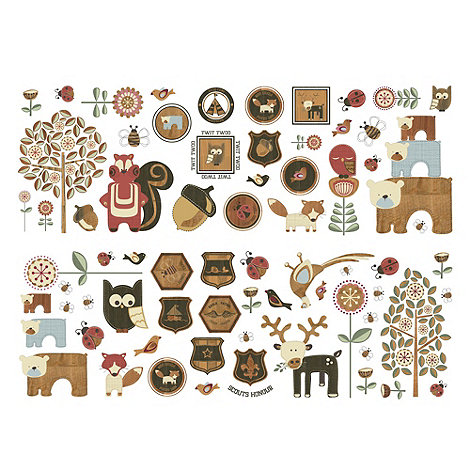 Graham & Brown Kids - Graham & Brown Forager Wall Sticker