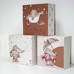 Graham & Brown Kids - Graham & Brown Eleflump Set of 3 Canvas Blocks