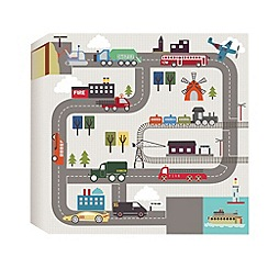 Graham & Brown Kids - Transportation Printed Canvas