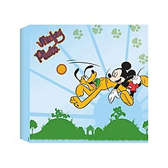 Disney - Mickey Mouses Best Friend Printed Canvas