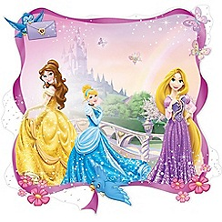 Disney - Purple Princess Over the Bed Sticker