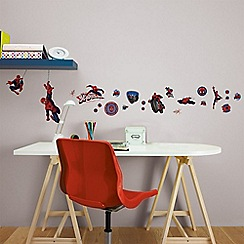 Marvel - Multicoloured SpiderMan Small Wall Sticker