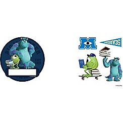Disney - Blue Monsters Mini Door Stickers