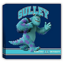 Disney - Monsters University printed canvas