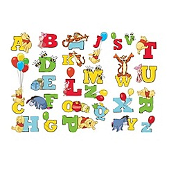 Graham & Brown Kids - Winnie the Pooh Alphabet Stickers