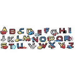 Disney - Disney Cars Alphabet Stickers