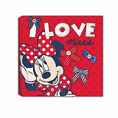 Disney - Red Minnie Mouse Printed Canvas