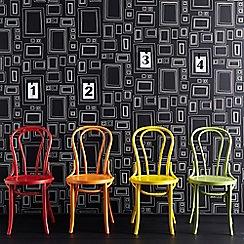 Graham & Brown - Black Frames Wallpaper