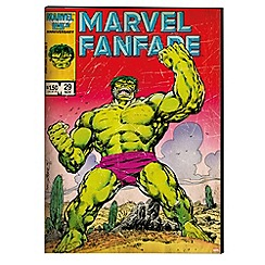 Marvel - The Hulk Printed Canvas
