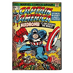 Marvel - Captain America Printed Canvas