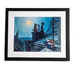 Disney - Blue Aristocats Film Framed Print