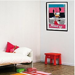 Disney - Pink Disney Mix Up Framed Print
