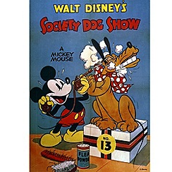 Disney - Mickey Mouse Dog Show canvas