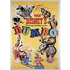 Disney - Disney Dumbo 1941 Canvas