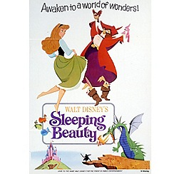 Disney - Sleeping Beauty 1970 Canvas