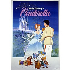 Disney - Cinderella 1981 Canvas