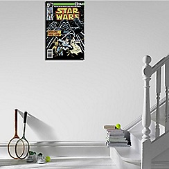 Star Wars - Black Shadow Of A Dark Lord Comic Canvas