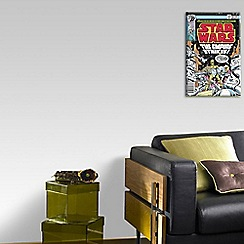 Star Wars - Multicoloured The Empire Strikes Comic Canvas