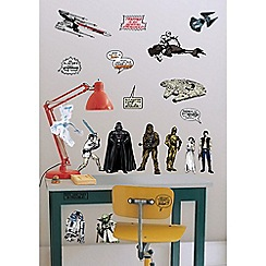 Star Wars - Multicoloured Star Wars Wall Stickers