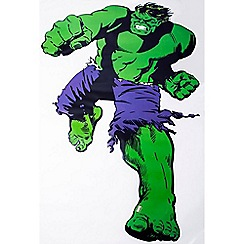 Marvel - Green Marvel Comics Life Size Hulk Wall Sticker