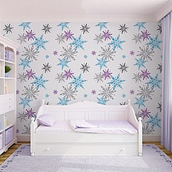 Disney - Disney Frozen Snowflake Wallpaper