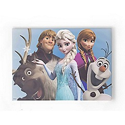 Disney - Frozen Group Hug Printed Canvas Printed Canvas