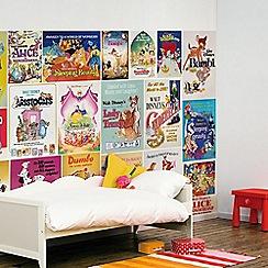 Disney - Digital Mural Disney Vintage Girls