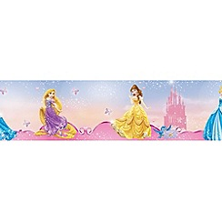 Disney - Pink Pretty as a Disney Princess Border