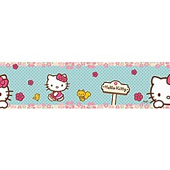 Hello Kitty - Hello Kitty Woodland Stroll Border