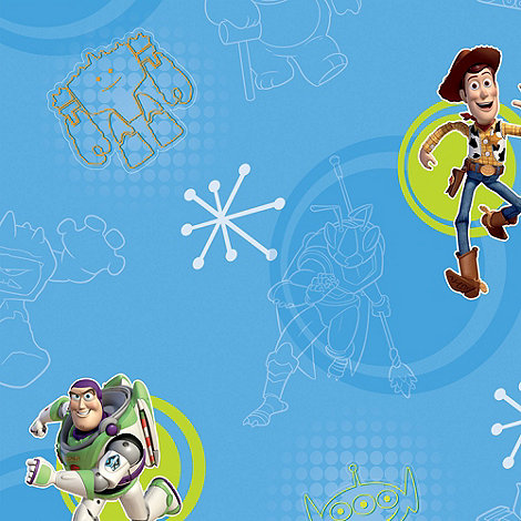 Disney - Blue Toy Story 3 Wallpaper