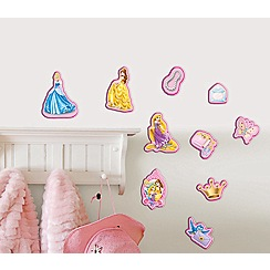 Disney - Multicoloured Princess Mini Foam Elements 10pcs