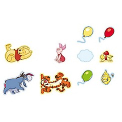 Disney - Multicoloured Winnie the Pooh Mini Foam Elements 10pcs