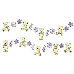 Graham & Brown Kids - Bears Mini Foam Wall Elements 24pcs