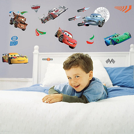 Disney - Cars 2 Wall Sticker