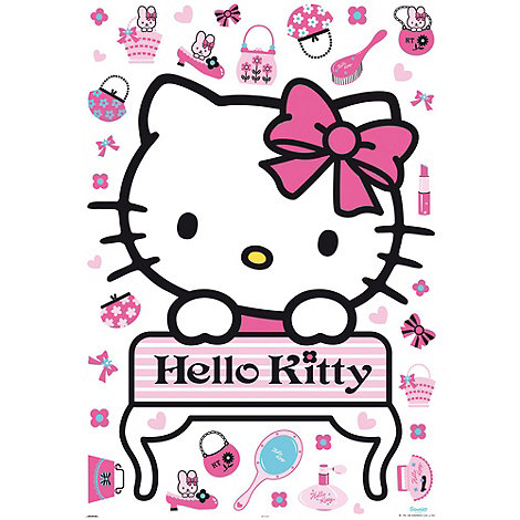 Hello Kitty - Hello Kitty Maxi Sticker