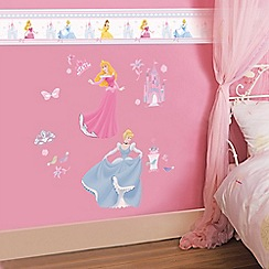 Disney - Multicoloured Princess Large Wall Sticker