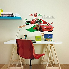Disney - Disney Cars 2 Large Wall Sticker