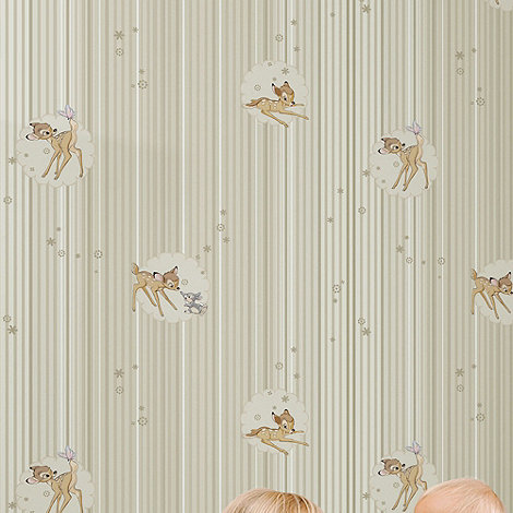 Graham & Brown Kids - Beige Bambi Wallpaper