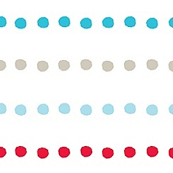 Graham & Brown Kids - Multicoloured Bubble Gum Dots Wallpaper