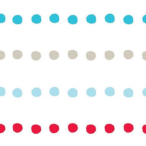 Disney - Multicoloured Bubble Gum Dots Wallpaper