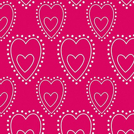 Graham & Brown Kids - Pink Princess Sorbet Love Wallpaper