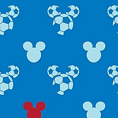 Graham & Brown Kids - Blue Mickey Sport Wallpaper