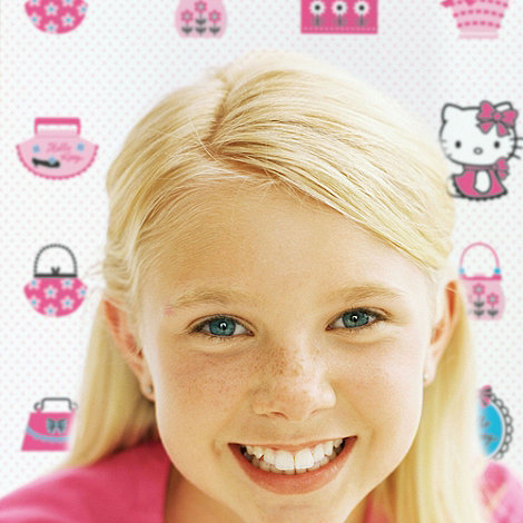 Graham & Brown Kids - Pink Hello Kitty Fashion Wallpaper