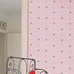 Graham & Brown Kids - Pink Hello Kitty Flower Power Wallpaper