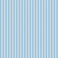 Graham & Brown Kids - Blue Classic Stripe - Vintage Wallpaper