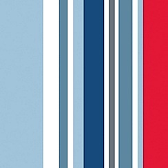 Graham & Brown Kids - Blue Long Island Stripe Wallpaper