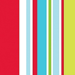 Graham & Brown Kids - Multicoloured Long Island Stripe Wallpaper