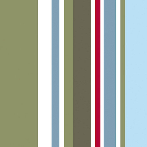 Graham & Brown Kids - Blue Long Island Stripe Wallpaper